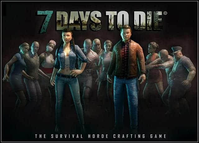 Alpha 8 & New Zombie Animations In 7 Days To Die