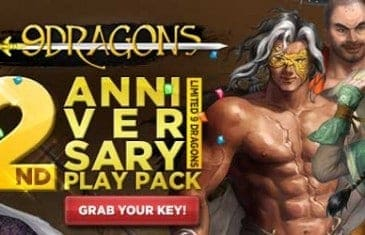 9Dragons 2nd Anniversary Exclusive Play Pack