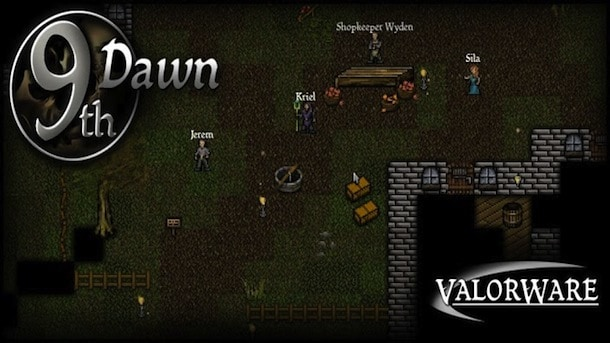 New MMORPG 9th Dawn Launches for iOS