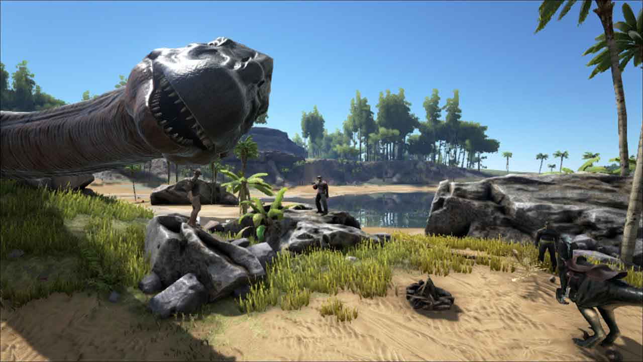 ARK: Survival Evolved Introduces New Dino And Awesome Grappling Hook