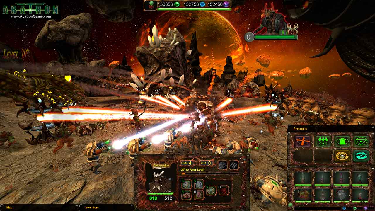RTS/FPS Hybrid Abatron Enters Alpha Phase