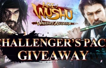 Age of Wushu Challengers Pack Giveaway