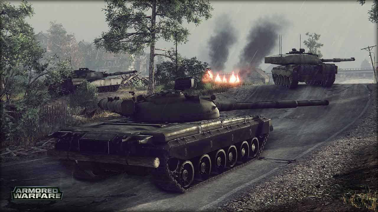 New Tanks And Map Added To Armored Warfare