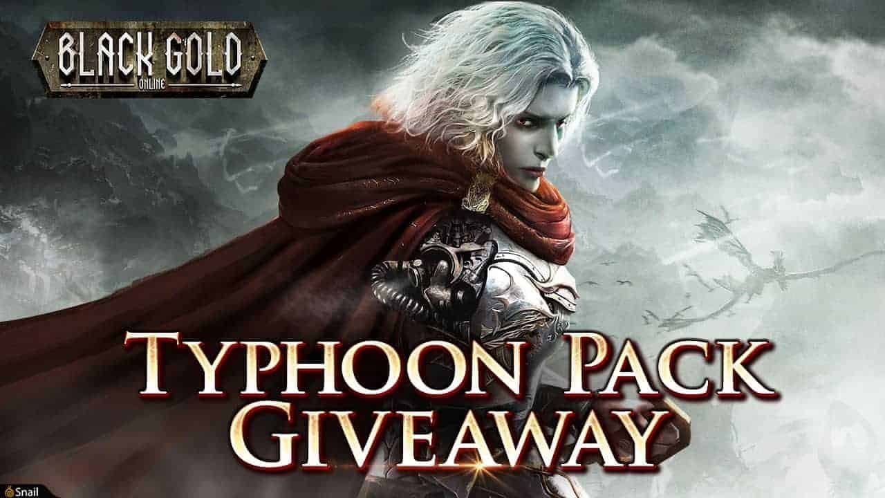 Black Gold Online Bloodied Tides Gift Pack Giveaway