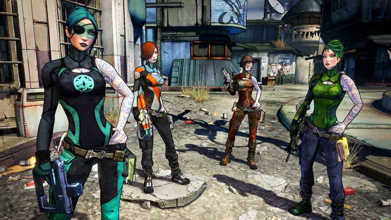 Borderlands Online Announced