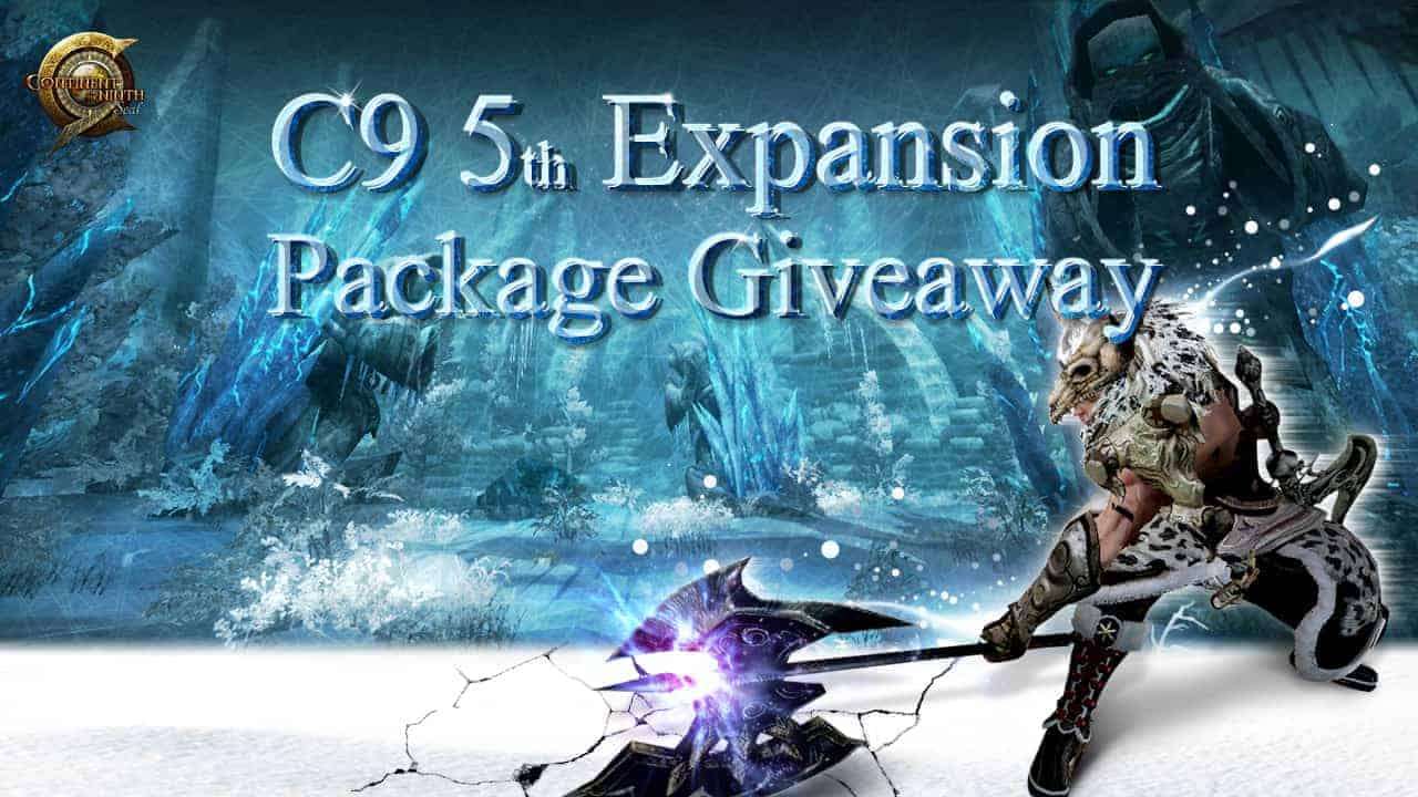 C9 5th Expansion Item Giveaway
