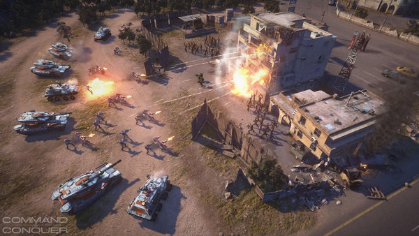 Command & Conquer Free MMO Closed Beta Dated