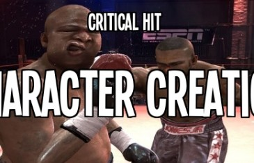 Critical Hit – Character Creation In MMO Games