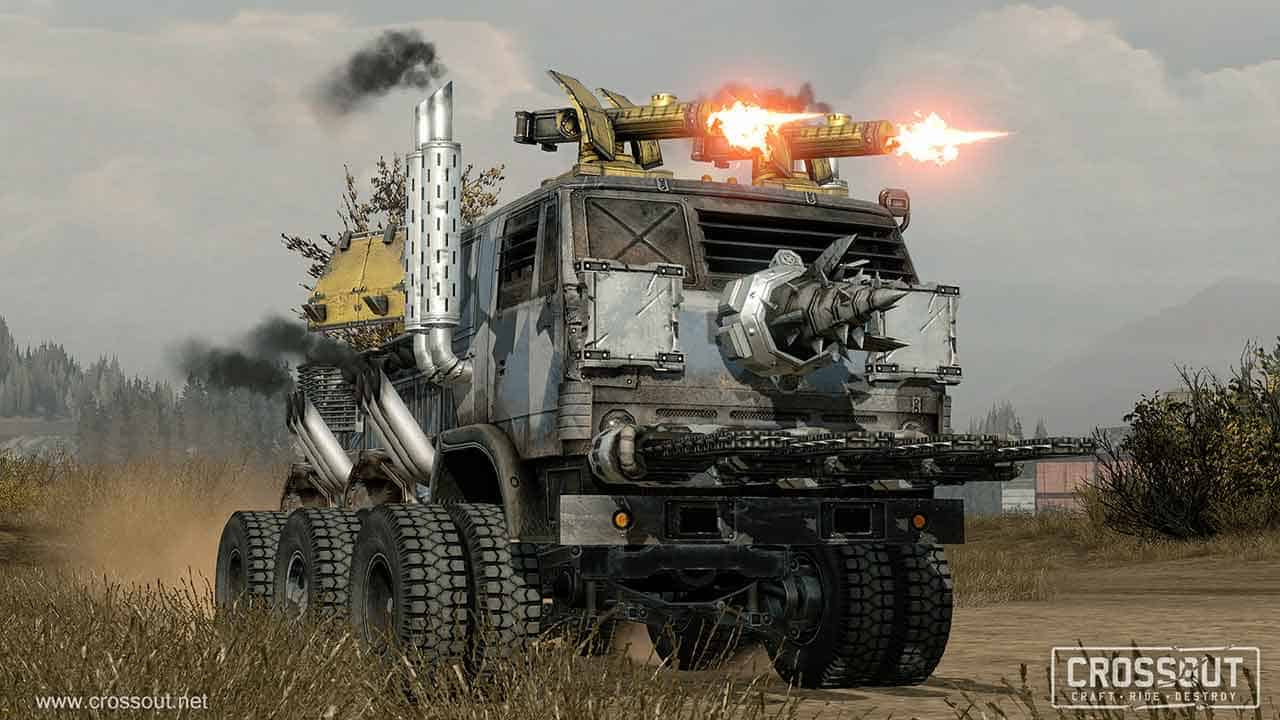 Post-Apocalyptic Vehicular Combat MMO Crossout Enters Closed Beta