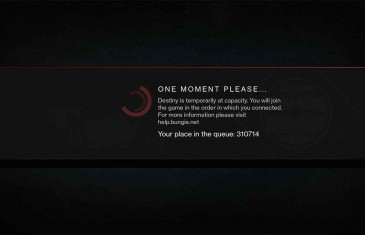 Destiny Servers Struggle