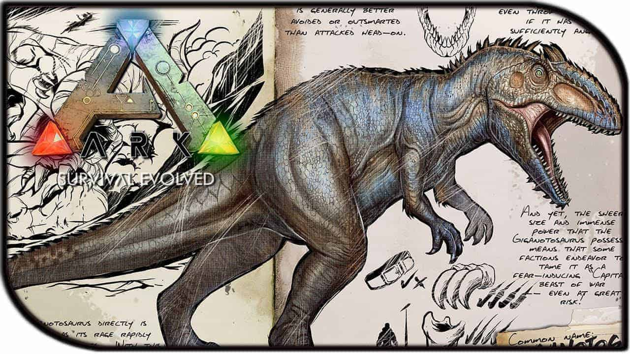 ARK: Survival Evolved's Biggest Beast Revealed – Giganotosaurus