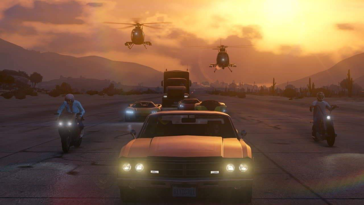 Grand Theft Auto Online's Festive Update Introduces Seasonal Clothing & New Supercar