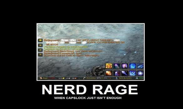 How Do You Deal With Nerd Rage – MMOpinion