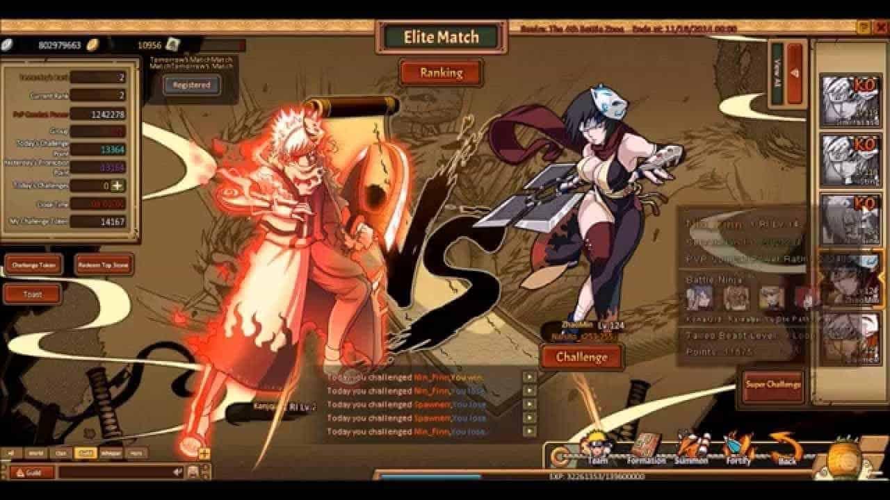 Lekoolgames Release Naruto Inspired Free-To-Play MMORPG Ninja Classic
