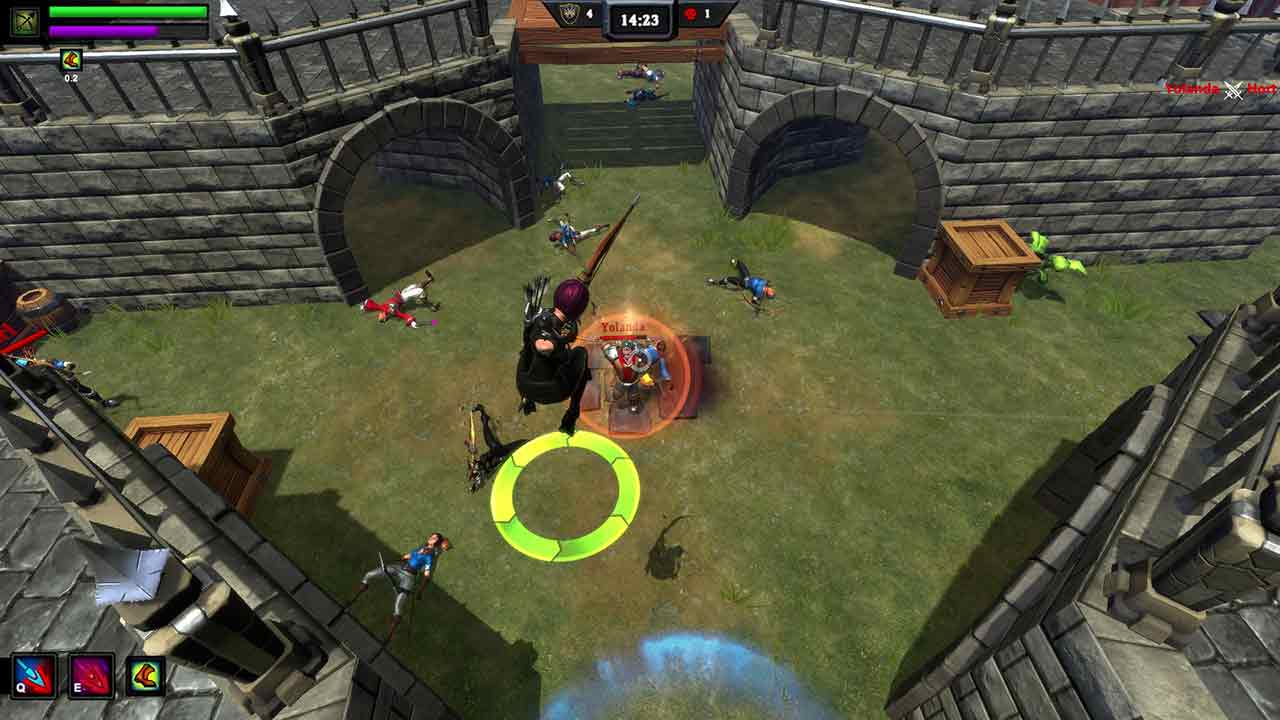 PvP & MOBA Inspired MMO Overpower Enters Steam Early Access Program