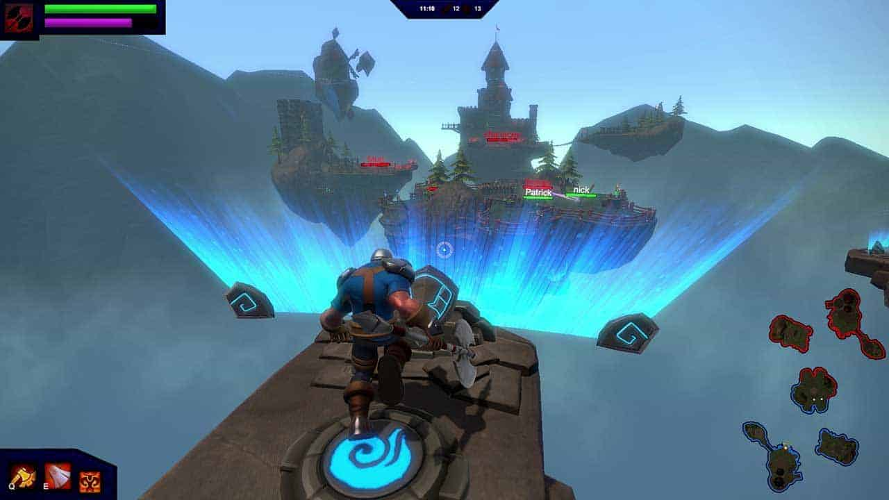 Medieval MOBA Inspired Shooter Overpower Hits Kickstarter