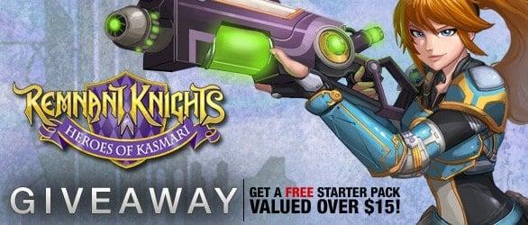 Remnant Knights: Heroes of Kasmari Starter Pack Giveaway