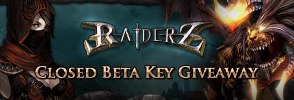 RaiderZ Closed Beta Key Giveaway