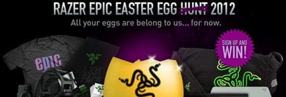 Razer's Easter event is your ticket to some cool new stuff!