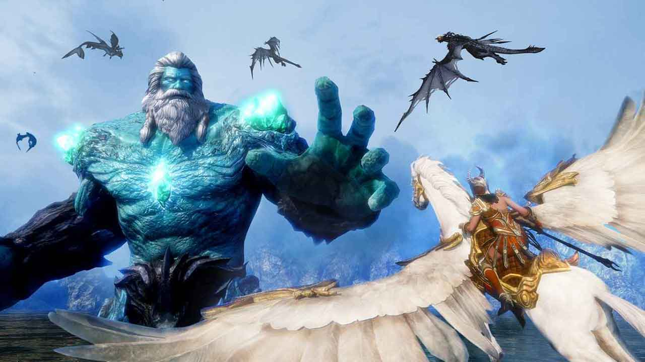 Take To The Skies In Riders Of Icarus Open Beta