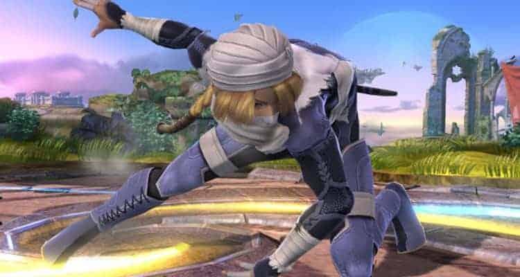 Sheik Smash Bros 4