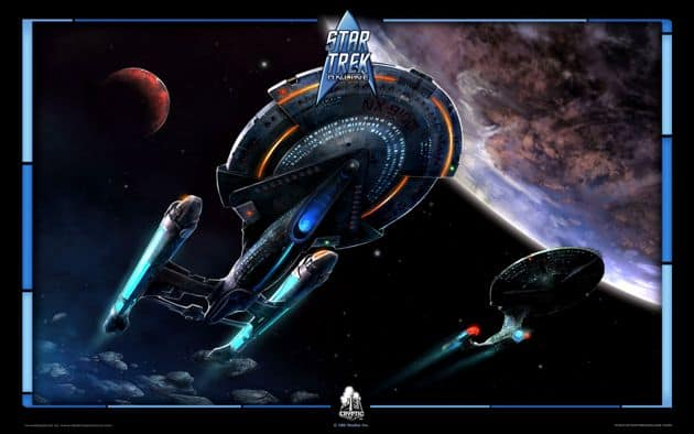 Star Trek Online Expansion Channels Voyager In Delta Rising