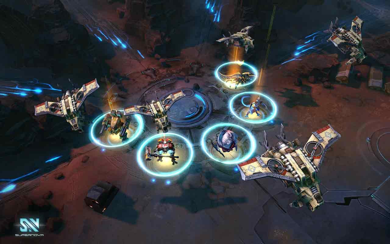 Bandai Namco's MOBA, Supernova, Enters Open Beta Today