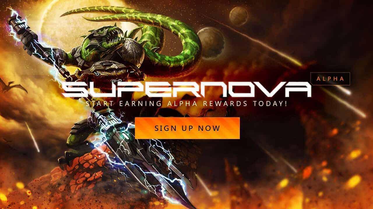 Supernova Alpha 6 Giveaway Banner
