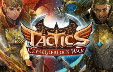 MMOCCG Tactics: Conqueror's War Welcomes New Server