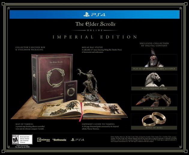 UPDATED: The Elder Scrolls Online: Imperial Edition Appears On Amazon