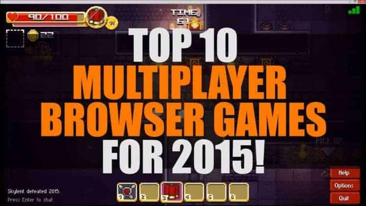 Top 10 Best Free Multiplayer Browser Games 2015