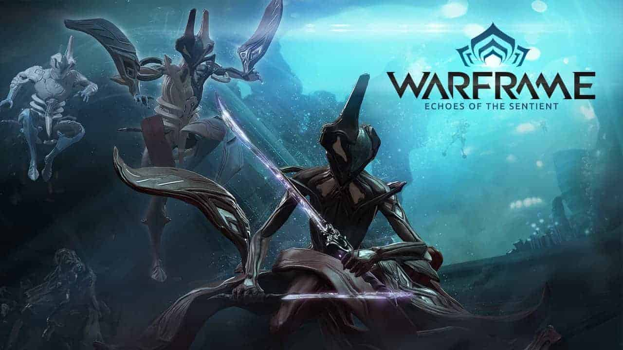 Warframe Echoes of the Sentient Giveaway