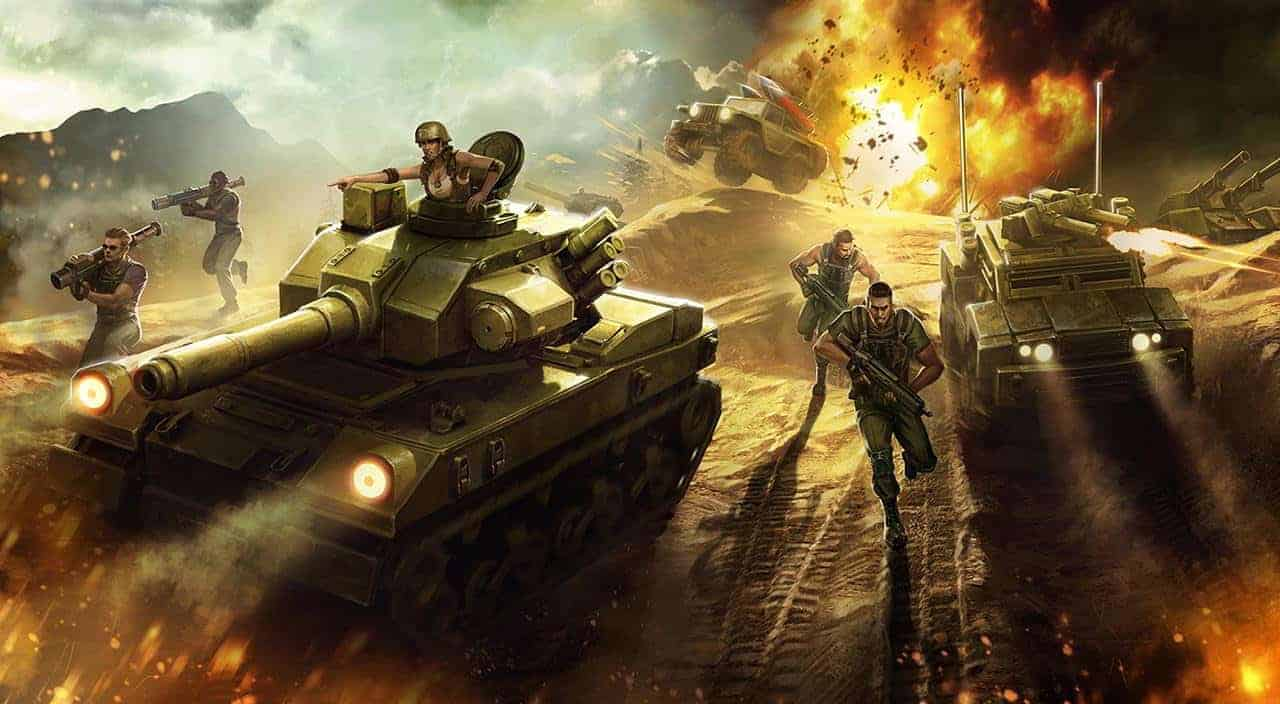 Tactical Combat RTS Victory Command Opens Closed Beta Registration