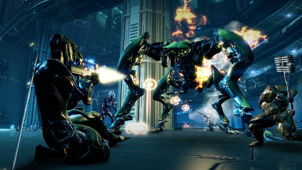 Warframe Takes The Fight Outside