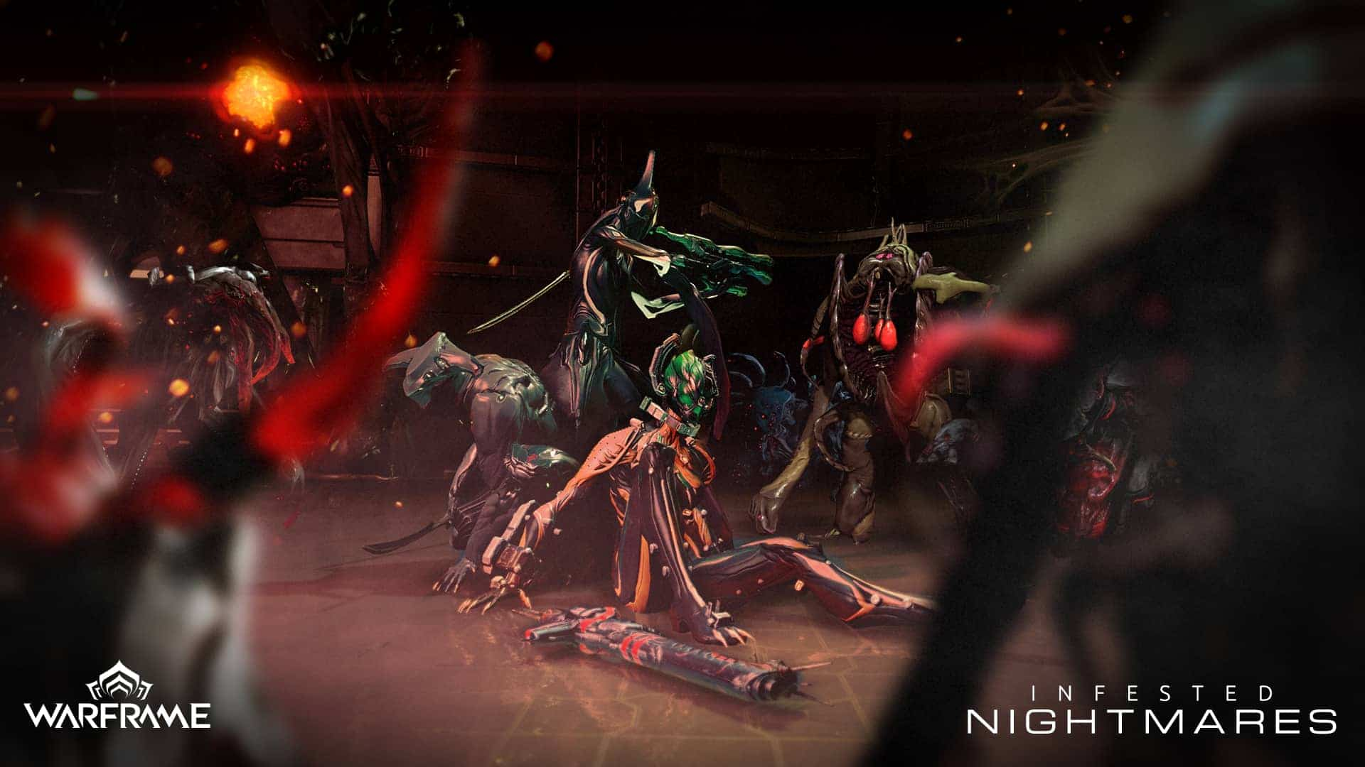 Warframe Infested Nightmares Double Bonus Key Giveaway