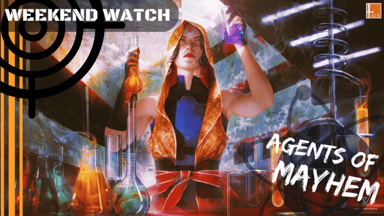 Weekend Watch: Agents of Mayhem and Observer