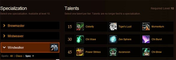 WoW: Mists of Pandaria talent trees revealed