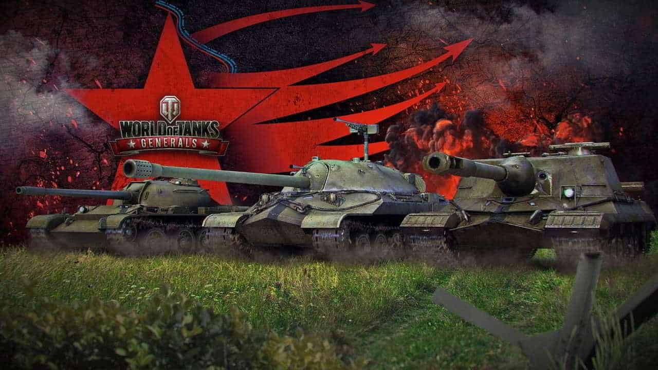 World of Tanks Generals 1280x720