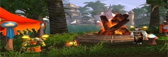 WoW celebrating Summer with a Midsummer Fire Festival