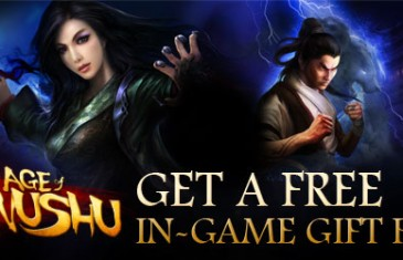 Age of Wushu – In Game Gift Pack Giveaway