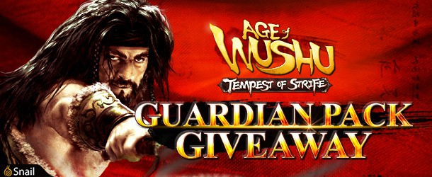Age of Wushu: Tempest of Strife Giveaway