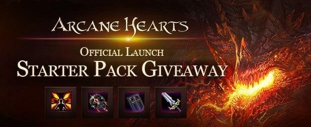 Arcane Hearts Starter Pack Giveaway