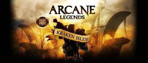 Arcane Legends – New Expansion Kraken Isles