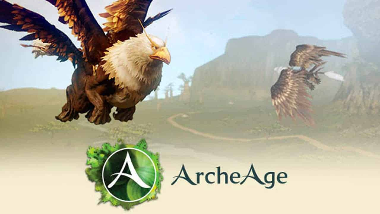 archeage-royal-griffin-mount