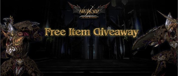 Archlord Expansion Free Item Giveaway