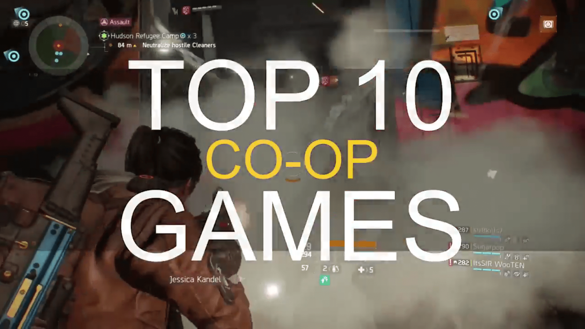 Top 10 Co-Op Games For 2018