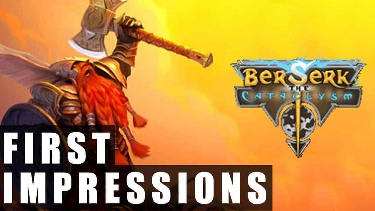 Berserk the Cataclysm Gameplay | First Impressions HD