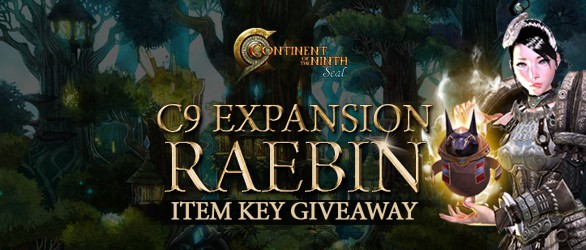 C9 Raebin Expansion Item Key Giveaway