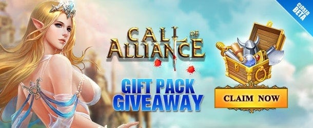 Call of Alliance Closed Beta Pack Giveaway