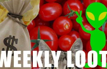 Cat Obsessions, Nachos, Alien Lifeforms, Stupid Tomatoes and more! | Weekly Loot Podcast 3